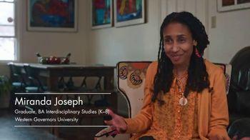Western Governors University TV Spot, 'Beyond Barriers: Miranda's Story' - Thumbnail 3