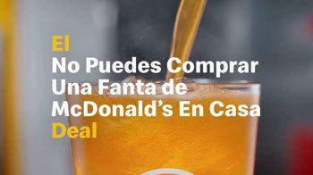 McDonald's $1 $2 $3 Dollar Menu TV Spot, 'No puedes comprar una Fanta de McDonald's en casa deal' [Spanish] - Thumbnail 5
