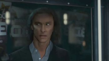 Doritos 3D Crunch TV Spot, 'Flat Matthew' Featuring Matthew McConaughey, Song by Queen