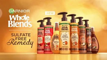 Garnier Whole Blends Sulfate Free Remedy TV Spot, 'The New Buzz' Featuring Drew Barrymore, Song by Lizzo - Thumbnail 7