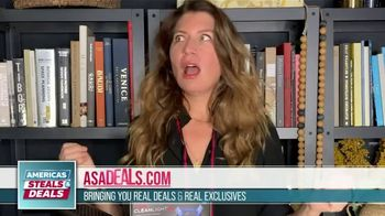 America's Steals & Deals TV Spot, 'CleanLight Air Purifiers: 22 to 30% Off' Featuring Genevieve Gorder - Thumbnail 1