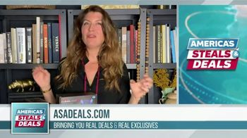 America's Steals & Deals TV Spot, 'CleanLight Air Purifiers: 22 to 30% Off' Featuring Genevieve Gorder - Thumbnail 2