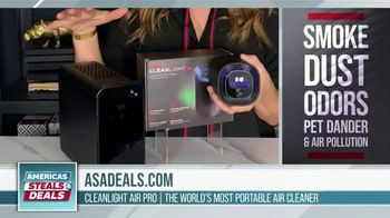 America's Steals & Deals TV Spot, 'CleanLight Air Purifiers: 22 to 30% Off' Featuring Genevieve Gorder - Thumbnail 3