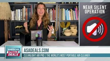 America's Steals & Deals TV Spot, 'CleanLight Air Purifiers: 22 to 30% Off' Featuring Genevieve Gorder - Thumbnail 5