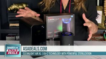 America's Steals & Deals TV Spot, 'CleanLight Air Purifiers: 22 to 30% Off' Featuring Genevieve Gorder - Thumbnail 6
