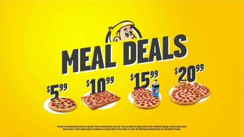 Hungry Howie's Meal Deals TV Spot, 'Pizza Speak' - Thumbnail 8