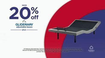 Ashley HomeStore Presidents Day Mattress Marathon TV Spot, '20% Off Glideaway' - Thumbnail 8