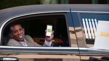 Subway TV Spot, 'Contactless Curbside' Featuring Deion Sanders - 511 commercial airings