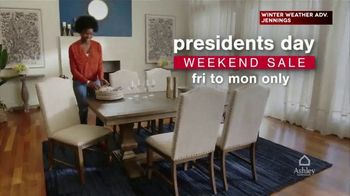 Ashley HomeStore Presidents Day Weekend Sale TV Spot, 'Save Up to 30% Off on Doorbusters: Sofa' - Thumbnail 3