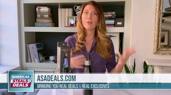 America's Steals & Deals TV Spot, 'Cleanlight Water Bottle' Featuring Genevieve Gorder