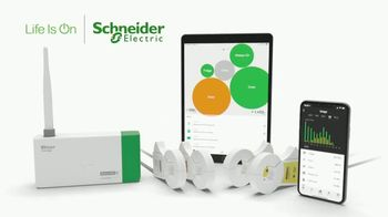 Schneider Electric Wiser Energy Smart Home Monitor TV Spot, 'Real Time Information' - Thumbnail 1