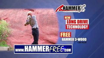 Hammer-X Driver TV Spot, 'Long Drive Technology' - Thumbnail 10