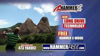 Hammer-X Driver TV Spot, 'Long Drive Technology' - Thumbnail 4