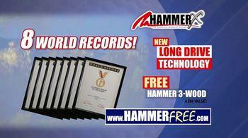 Hammer-X Driver TV Spot, 'Long Drive Technology' - Thumbnail 5