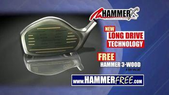 Hammer-X Driver TV Spot, 'Long Drive Technology' - Thumbnail 6