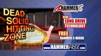 Hammer-X Driver TV Spot, 'Long Drive Technology' - Thumbnail 7