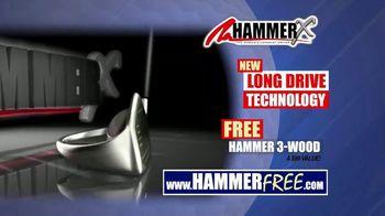 Hammer-X Driver TV Spot, 'Long Drive Technology' - Thumbnail 8
