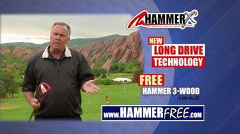 Hammer-X Driver TV Spot, 'Long Drive Technology' - Thumbnail 9