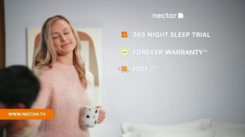 NECTAR Sleep Presidents Day Sale TV Spot, 'Getting It All Done' - Thumbnail 5