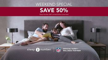 Ultimate Sleep Number Event TV Spot, 'Weekend Special: Save 50% and 0% Interest' Feat. Travis Kelce - Thumbnail 8