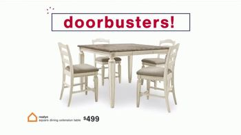 Ashley HomeStore Biggest Presidents Day Sale Ever TV Spot, 'Doorbusters' - Thumbnail 3