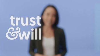 Trust & Will Will-Based Estate Plan TV Spot, 'Meet Trust & Will' - Thumbnail 4