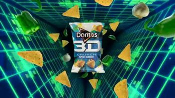 Doritos 3D Crunch Spicy Ranch TV Spot, 'It's Back' - Thumbnail 8