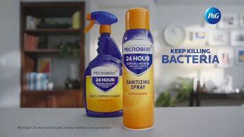 Microban 24 TV Spot, 'Keep Killing Bacteria for 24 Hours' - Thumbnail 9