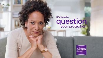 Always Discreet TV Spot, 'Protects Differently' - Thumbnail 10