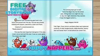 Happy Nappers TV Spot, 'Free Digital Storybook'