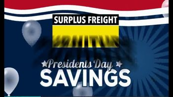 Surplus Presidents Day Sale TV Spot, 'Savings by the Truckload: Recliners, Mattresses, Motion Sofas' - Thumbnail 2