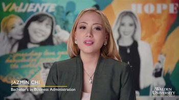 Walden University TV Spot, 'Shine On: Jazmin Chi' - Thumbnail 7