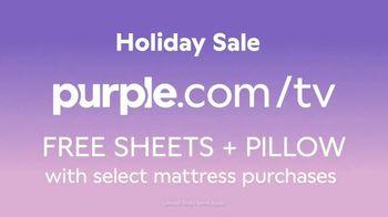 Purple Mattress Holiday Sale TV Spot, 'Santa Claus: Free Sheets and Pillow' - Thumbnail 9