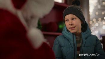 Purple Mattress Holiday Sale TV Spot, 'Santa Claus: Free Sheets and Pillow' - Thumbnail 2