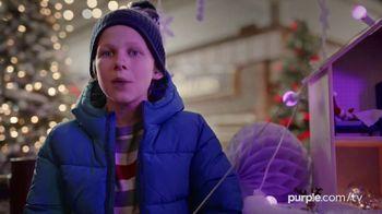 Purple Mattress Holiday Sale TV Spot, 'Santa Claus: Free Sheets and Pillow' - Thumbnail 7