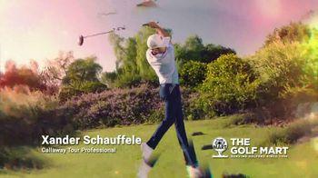 The Golf Mart TV Spot, 'Holidays: Callaway Drivers and Chrome Soft Golf Balls' Ft. Xander Schauffele - Thumbnail 1