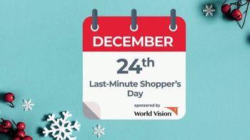 World Vision TV Spot, 'Still Time To Spread Joy' - Thumbnail 1