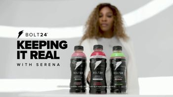 BOLT24 TV Spot, 'Keeping It Real With Serena: One Name' Ft. Serena Williams, Song by Alec King - Thumbnail 2