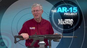 MidwayUSA AR-15 Project TV Spot, 'Picatinny Rails' - Thumbnail 9
