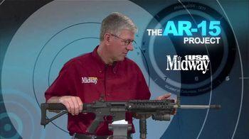 MidwayUSA AR-15 Project TV Spot, 'Picatinny Rails' - Thumbnail 8