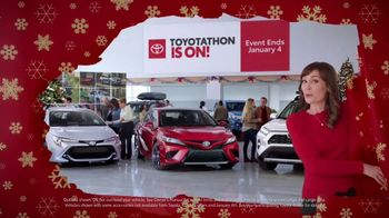 Toyota Toyotathon TV Spot, 'Wrapped Up' [T2] - 80 commercial airings
