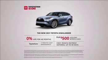 Toyota Toyotathon TV Spot, 'Workshop' [T2] - Thumbnail 5