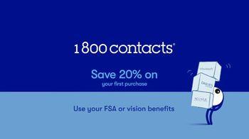 1-800 Contacts TV Spot, 'FSA and 20% Off' - Thumbnail 8