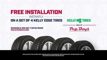 PepBoys TV Spot, 'Scheduling: Kelly Edge Tires' - Thumbnail 9