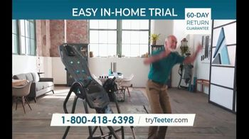 Teeter FitSpine TV Spot, 'I Know: $0 Down and 0% Interest' - Thumbnail 10