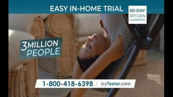 Teeter FitSpine TV Spot, 'I Know: $0 Down and 0% Interest' - Thumbnail 9