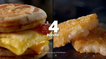 McDonald's $4 Bundle TV Spot, 'Morning Person: Sausage or Bacon, Egg, and Cheese McGriddle' - Thumbnail 9