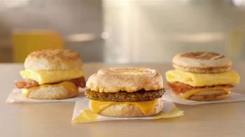 McDonald's $4 Bundle TV Spot, 'Morning Person: Sausage or Bacon, Egg, and Cheese McGriddle' - Thumbnail 5