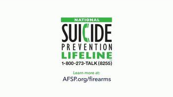 National Suicide Prevention Lifeline TV Spot, 'Gun Storage' - Thumbnail 9
