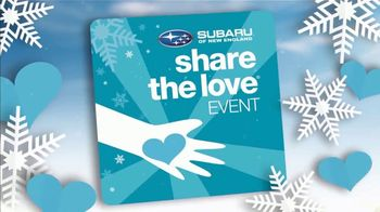 Subaru Share the Love Event TV Spot, 'Give Back' [T2] - Thumbnail 3